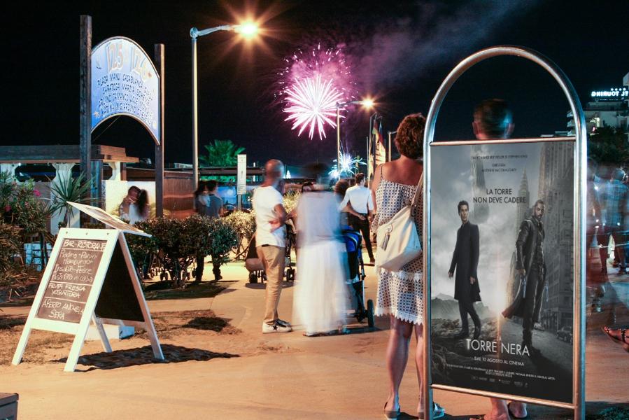 Affissione pubblicità Rimini La Torre Nera